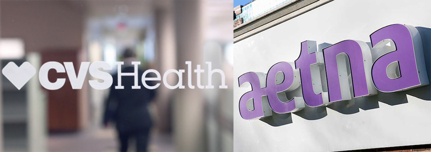 CVS Health agreed to acquire Aetna for $77 Bn (€65.3 Bn)