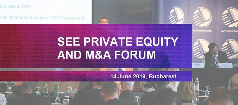 Martin Paev, CFA, Chairman of Sortis Group, was a Speaker at the SEE Private Equity and M&A Forum in Bucharest (Romania) on 14th of June 2019