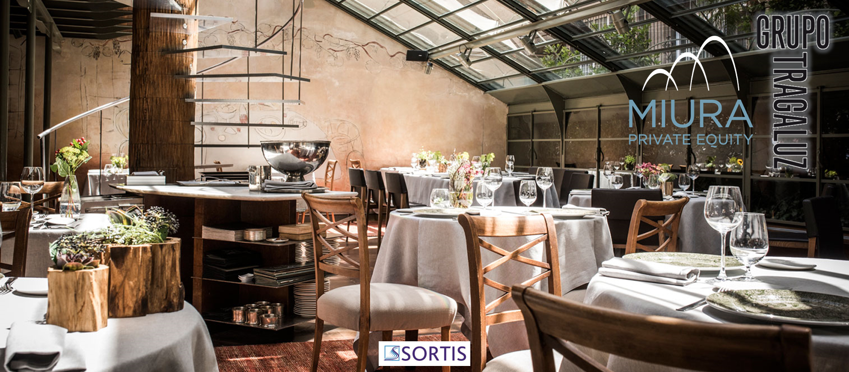 Spanish Group of Restaurants Tragaluz Sells its Majority Stake to Miura Private Equity
