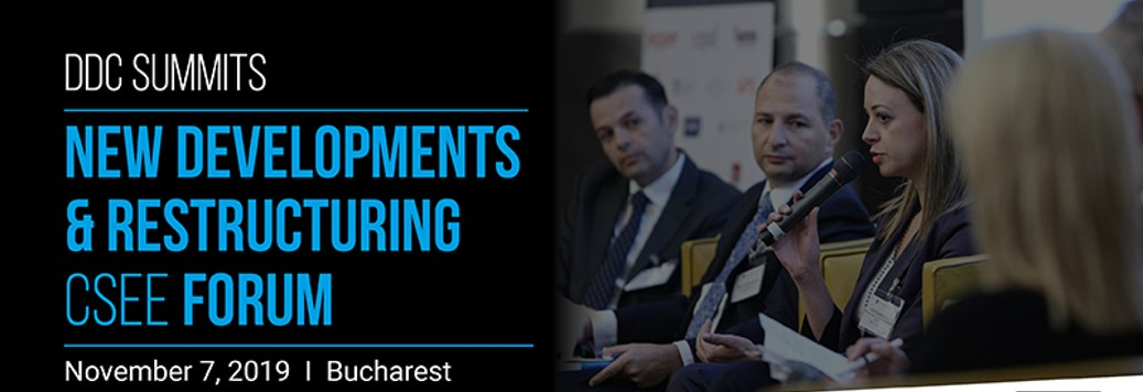 Martin Paev, Chairman of SORTIS Group, Spoke at the New Developments & Restructuring CSEE Forum 2019 in Bucharest (Romania)